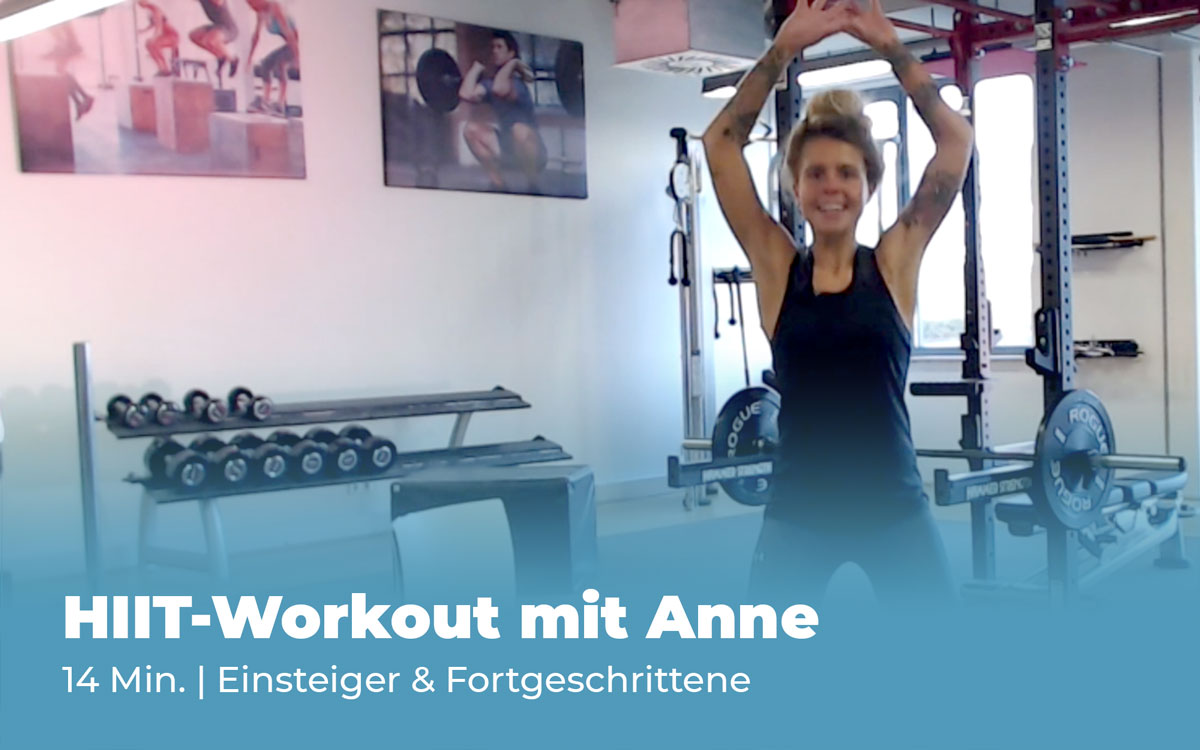 Workout HIIT mit Anne