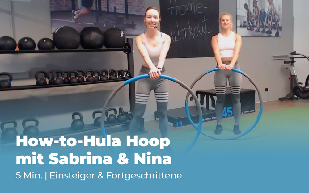 Workout: How-to-Hula Hoop mit Sabrina & Nina