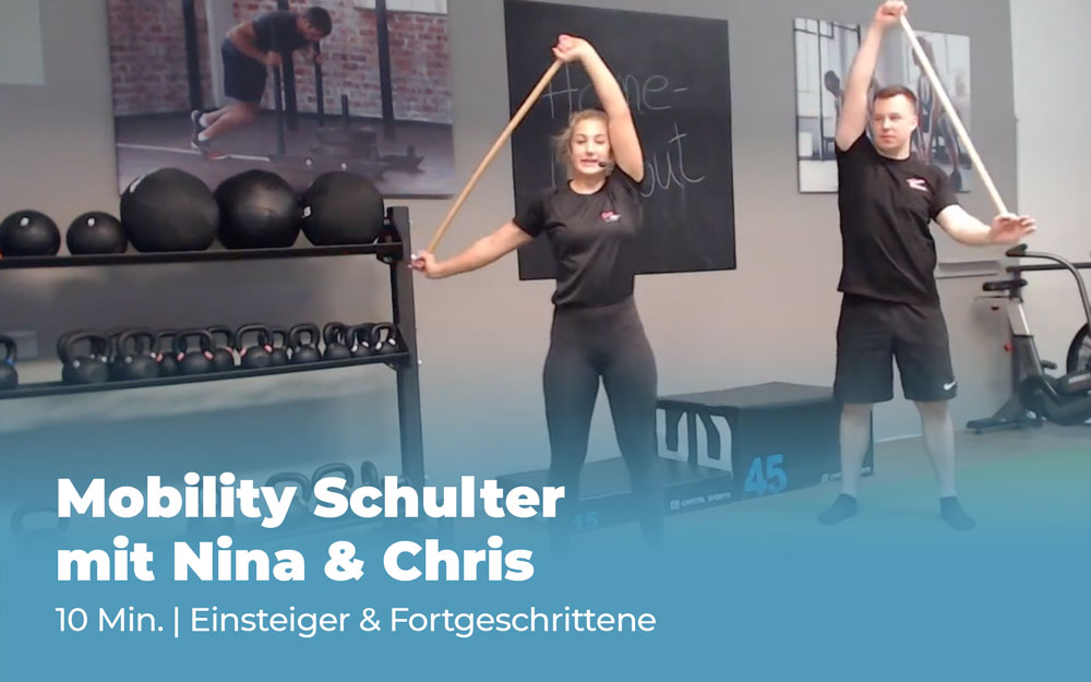 Workout Mobility Schulter mit Nina & Chris